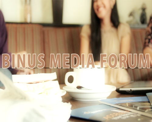 BINUS MEDIA FORUM