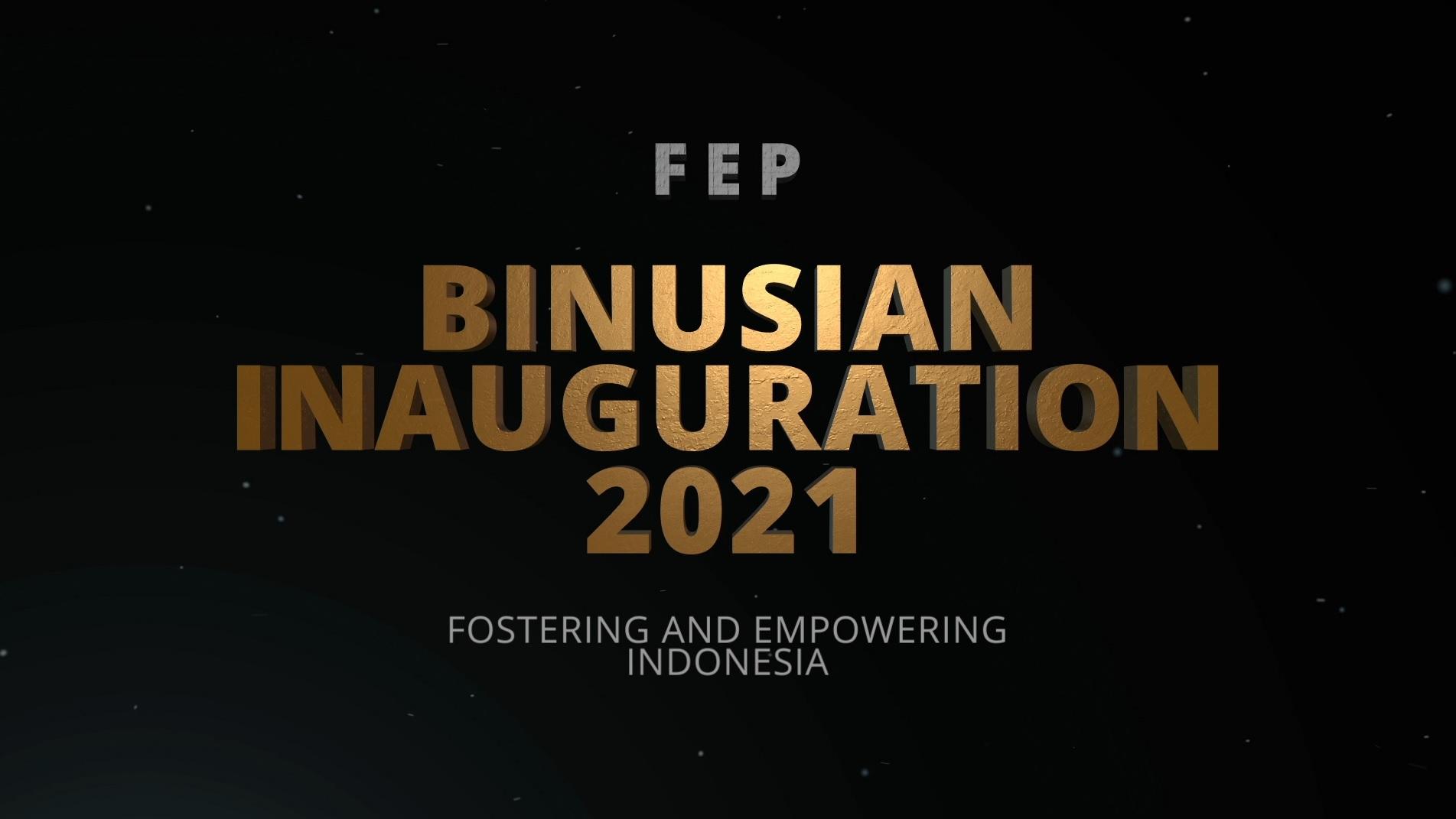 BINUSIAN INAUGURATION 2021