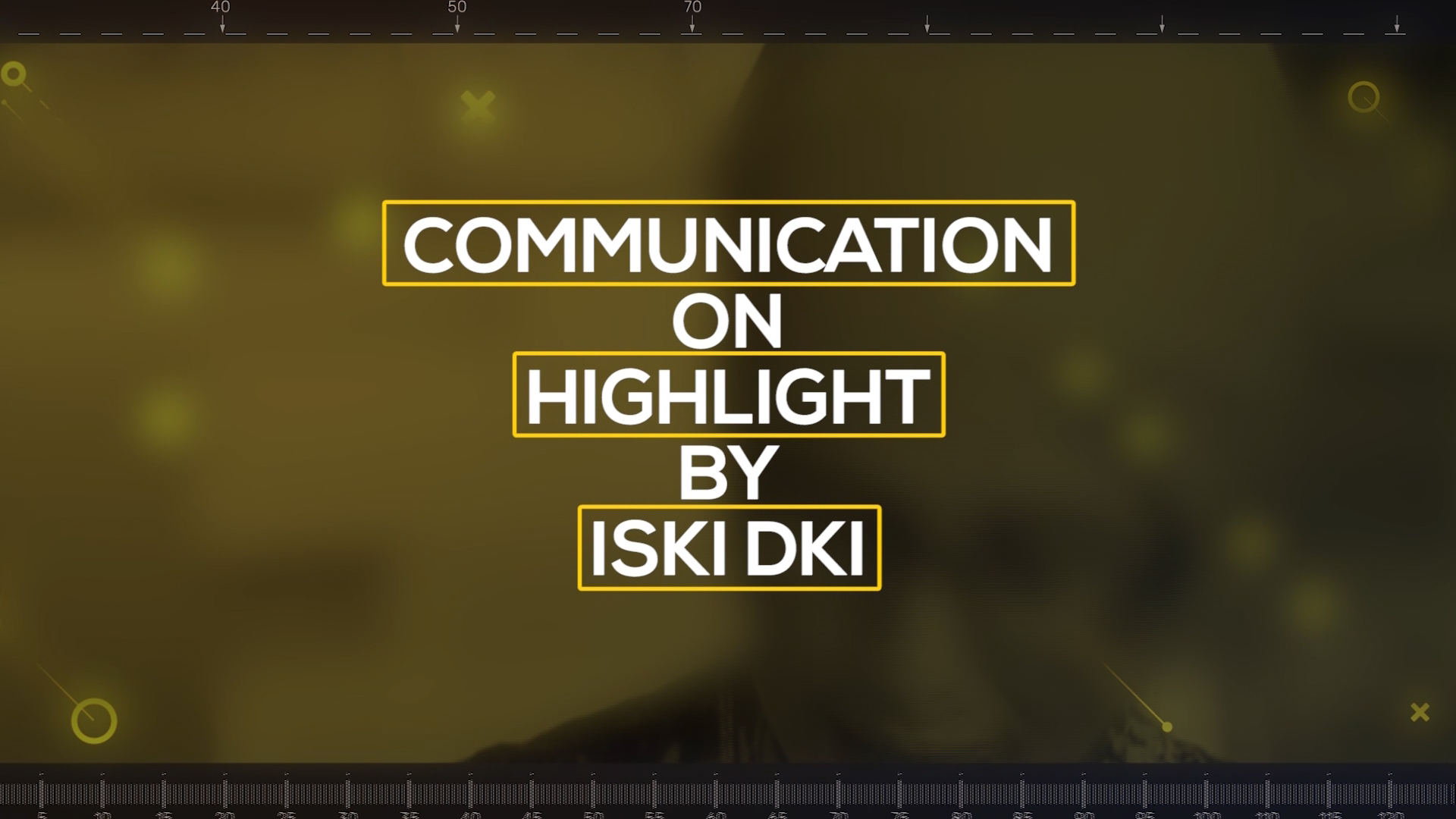 COMMUNICATION ON HIGHLIGHT BY ISKI DKI