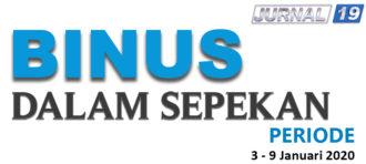 BINUS DALAM SEPEKAN (13 – 19 DESEMBER 2019)