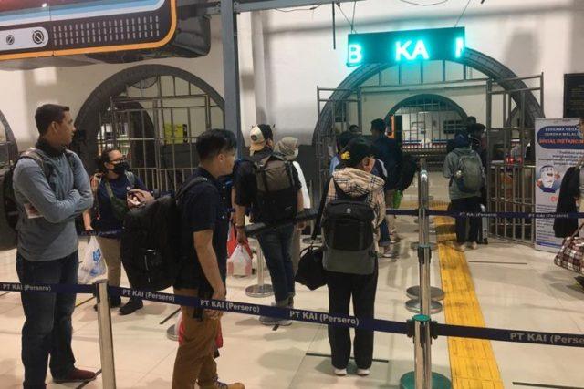 Pembatasan Jarak di Stasiun