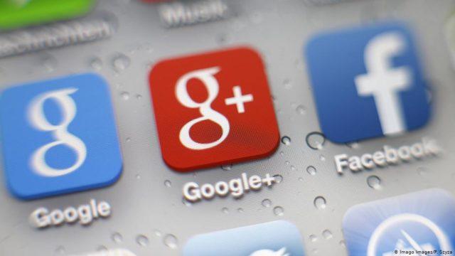 Simbol Google dan FB
