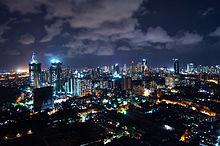 Mumbai di India malam hari. Sumber Foto: Wikipedia
